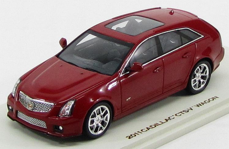 Cadillac CTS-V Sport Wagon 2011 (Crystal Red)