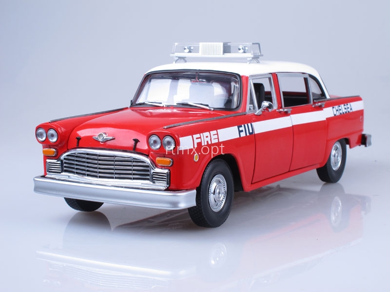 Checker A11 Chelsea Fire Engine 1981