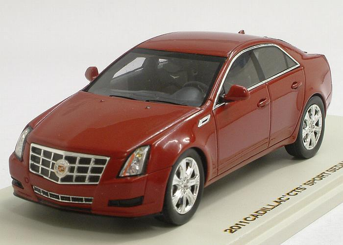Cadillac CTS Sedan 2011 (Crystal Red)