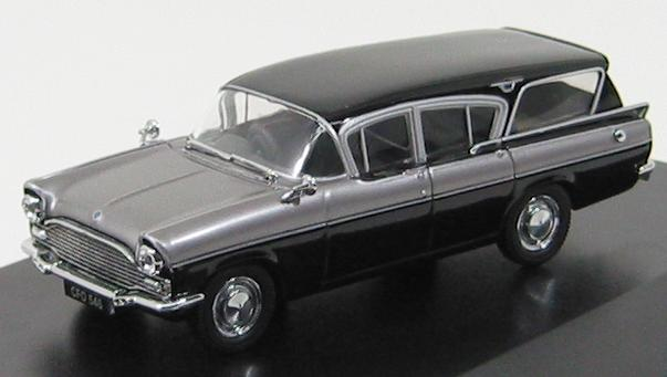 Vauxhall Cresta Friary Estate Silver 1961 Grey / Black