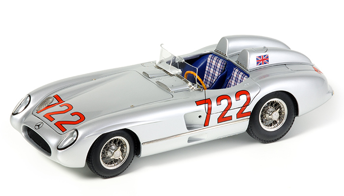 Mercedes-Benz 300 SLR 1955 Mille Miglia, #722, Nurnberg Toy Fair