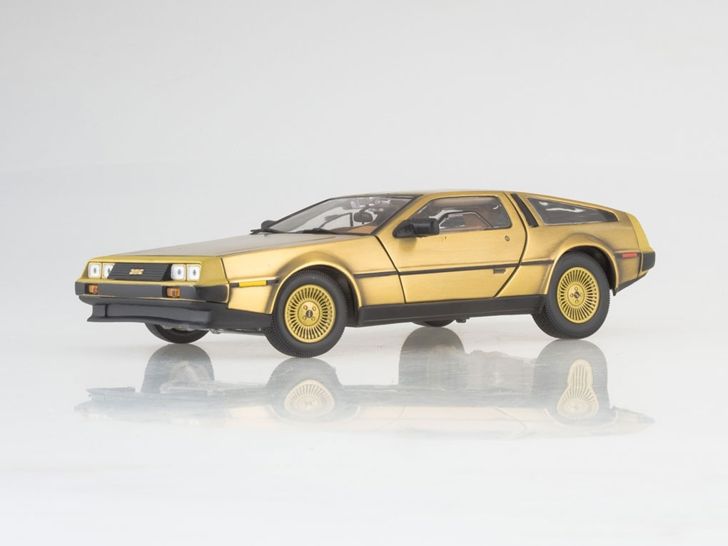 DeLorean Dmc 12 Coupe, gold