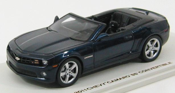 Chevrolet Camaro SS Convertible 2011 Imperial Blue Met