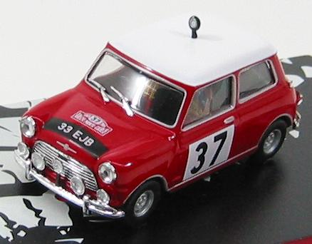 Morris Mini Cooper S N37 - Winner Rally Montecarlo 1964