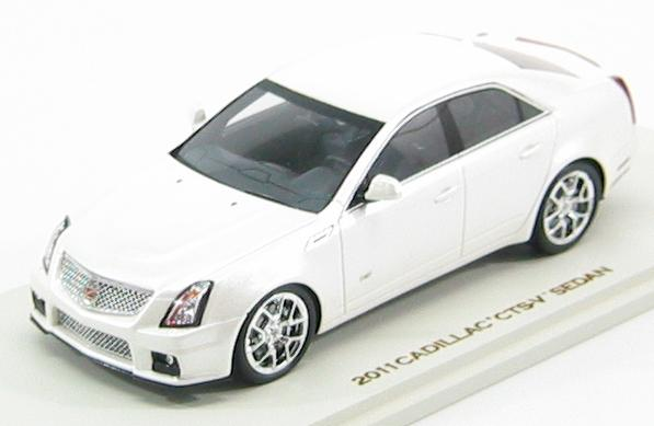 Cadillac CTS-V Sedan 2011 (White Diamond)