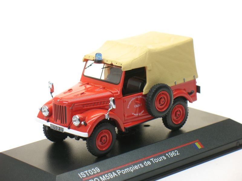 ARO M59 Pompiers de Tours 1954 Red