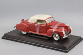 Lincoln Zephyr Convertible (1939) Red