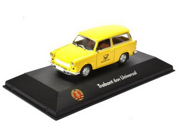 "TRABANT 601 Universal ""Deutsche Post"" 1990 Yellow"