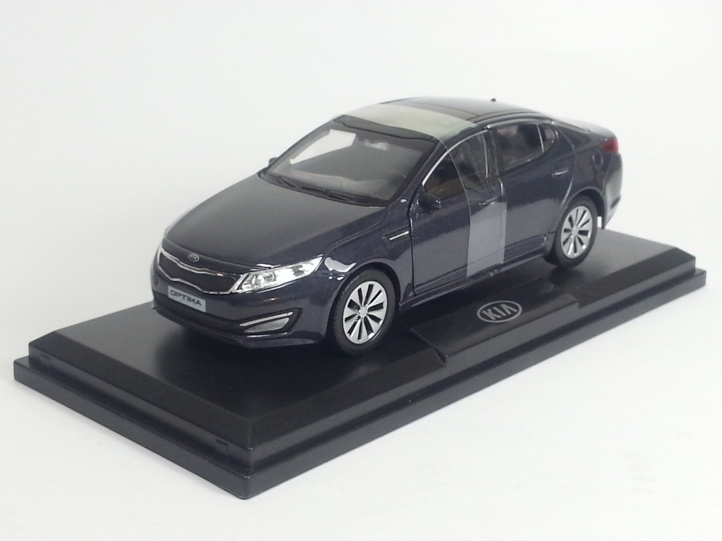 KIA Optima III (K5), KIA Collection 1:38, серый