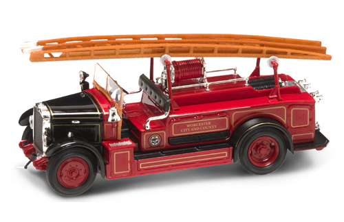 Уценка! Leyland FK-1 (1934) black/red