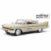 "PLYMOUTH Fury ""Daytona Beach Speed Weeks February 3-17"" 1957"