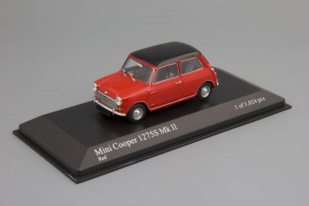 Morris Mini Cooper 1275S MK II (1967) red