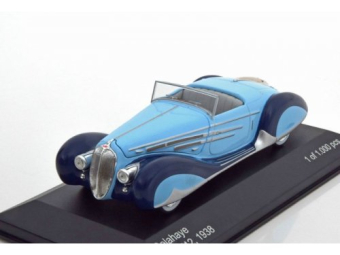 Delahaye 165 V12 1938 Light Blue/Blue