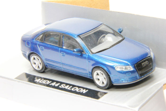 Audi A4 saloon (blue)