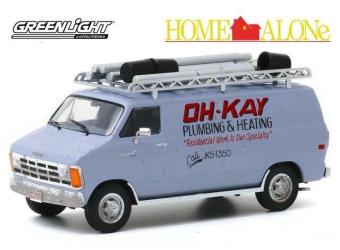 "DODGE Ram Van ""Oh-Kay Plumbing & Heating"" 1986 (из к/ф ""Один дома"")"