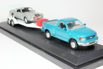 Ford F-150 XLT + трейлер  + Shelby GT 500-KR (1968)
