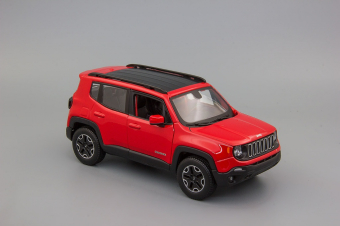 Jeep Renegade (red/black)