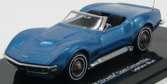 Chevrolet Corvette Open Convertible 1968 LeMans Blue