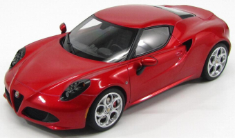 Alfa Romeo 4C 2013 Red