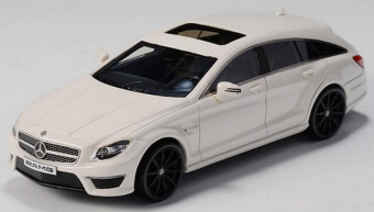 Mercedes-Benz CLS63 AMG Shooting Brake (Х218) 2014 White