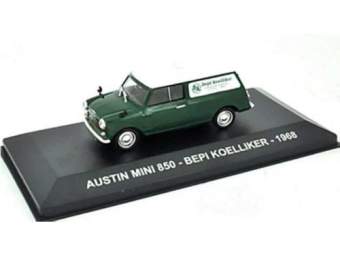 "Austin Mini 850 ""Bepi Koelliker"" 1968 Green/White"