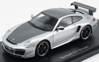 Porsche 911 (997) Techart GT Street 2009 Silver / Metallic Grey