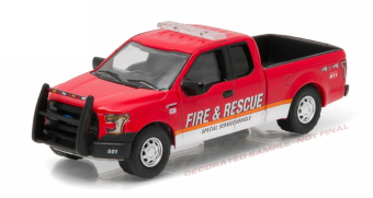 Ford F-150 Fire & Rescue Special Service (пожарный) 2015