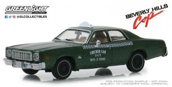 "PLYMOUTH Fury Taxi Checker Cab 069 WO.3-7000 (из к/ф ""Полицейский из Беверли-Хиллз"")"