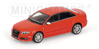 AUDI RS 4 – 2005 – RED METALLIC L.E. 2016 pcs.
