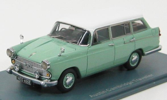 Austin A60 Countryman 1966 Green / White