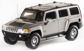 Hummer H3 2006 (Boulder Grey Metallic)