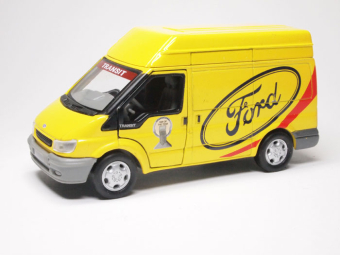 Ford Transit short van (yellow)