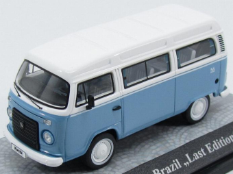 "Volkswagen T2c Bus Brazil ""Last Edition""2013 Light Blue/White"