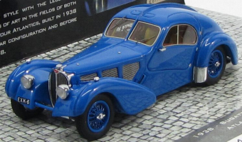 Bugatti Type 57C Atlantic 1938 Blue (l.e.500 pcs)