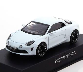 Alpine Vision 2016 White (презентация в Moнакo)