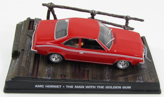 "AMC Hornet 1969 ""The Man With The Golden Gun"" Red"