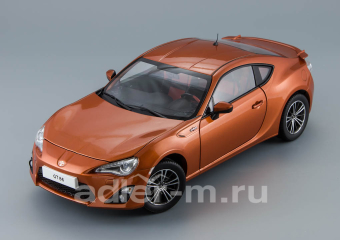 Toyota GT86 2012 Orange Metallic