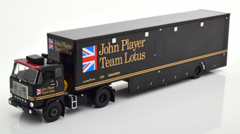 "VOLVO F88 Race Transporter c полуприцепом ""John Player Team Lotus"" 1972 Black"