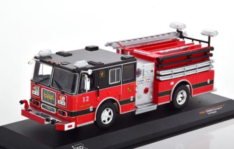 "SEAGRAVE Marauder II ""Pelham Fire Department"" 2007 Red/Black"