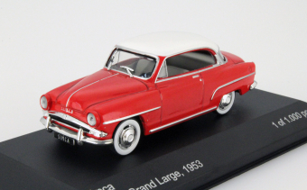 Simca Aronde Grand Large 1953 Red/white