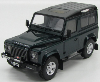 Land Rover Defender 90 2007 Antree green with black roof