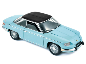 Panhard 24CT 1964 Tolede Blue/Black