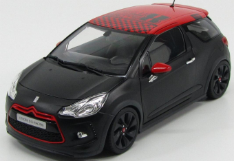 Citroen DS3 Racing Loeb 2012 Matt Black/Red