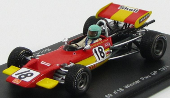 Lotus F1 69 #18 Winner Pau GP 1971 Reine Wisell