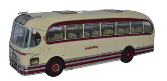 "автобус AEC Reliance WEYMANN Fanfare ""South Wales"" (OXFORD 25 Years) 1954 Beige/Maroon"